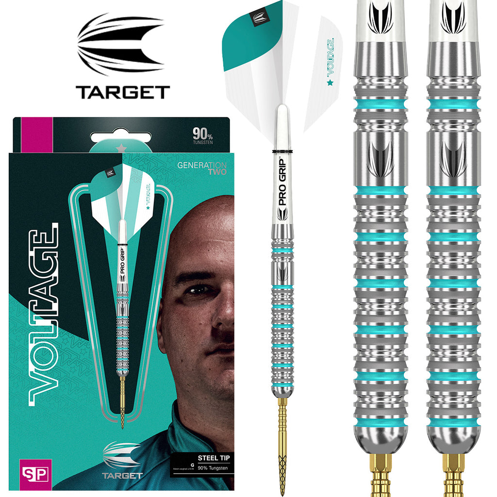 TARGET Rob Cross G2 Swiss Point Darts - 90% Tungsten - 21g