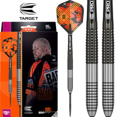 TARGET RVB G3 Swiss Point Darts - 95% Tungsten - 25g