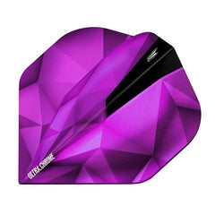 Target Shard Ultra Chrome Dart Flights - Amethyst No.2