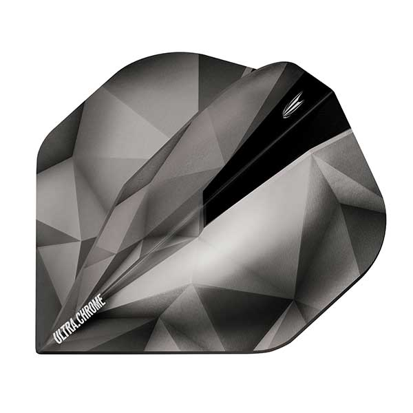 Target Shard Ultra Chrome Dart Flights - Anthracite No.2