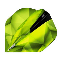 Target Shard Ultra Chrome Dart Flights - Emerald