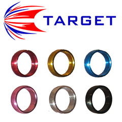 Target Slot Rings - Locks Flights to Nylon Shafts