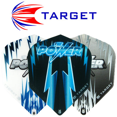 Target Vision Phil Taylor Power 100 Standard Transparent Flights