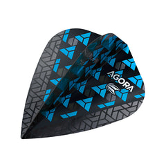 Target Agora Ultra Ghost Dart Flights Kite Shape Blue