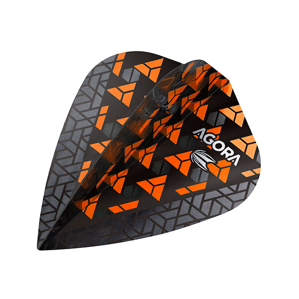 Target Agora Ultra Ghost Dart Flights Kite Shape Orange