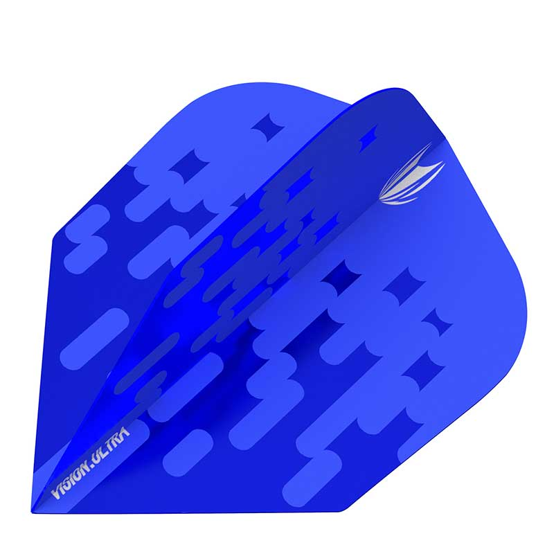 Target Arcade Flights NO6 Shape - Blue