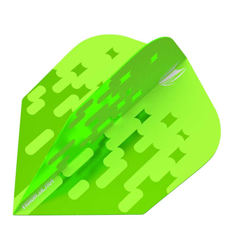 Target Arcade Flights NO6 Shape - Lime