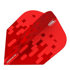 Target Arcade Flights NO6 Shape - Red