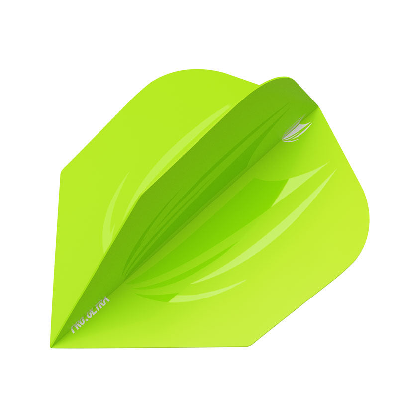 Target 2019 ID PRO ULTRA Flights NO6 Shape - Lime Green