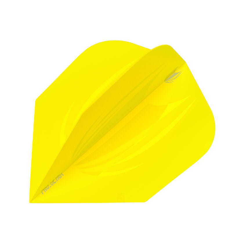 Target 2019 ID PRO ULTRA Flights NO6 Shape - Yellow