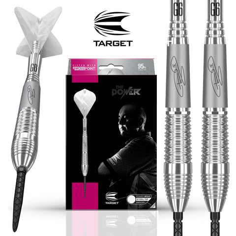 Target 2019 Phil Taylor Power 9Five GEN 6 SP Swiss Point Darts - 26g