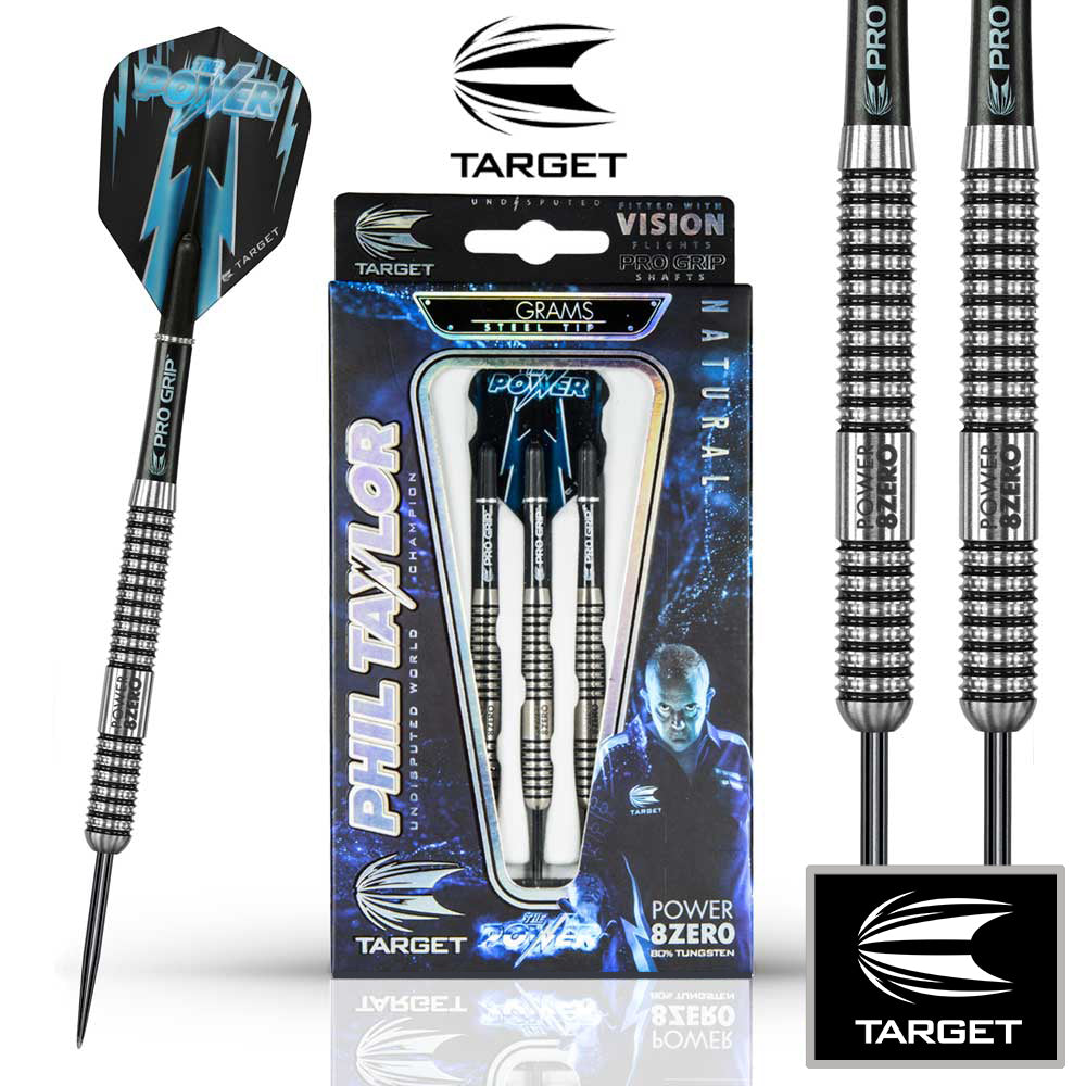 Target Undisputed Phil Taylor Power 8ZERO Darts 21g
