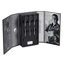 Unicorn Gary Anderson Noir Darts Deluxe Set 27g