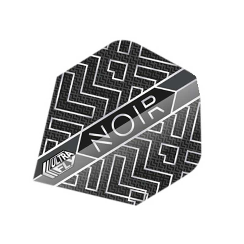 Unicorn Noir Abstract Dart Flights - Plus & Big Wing Size