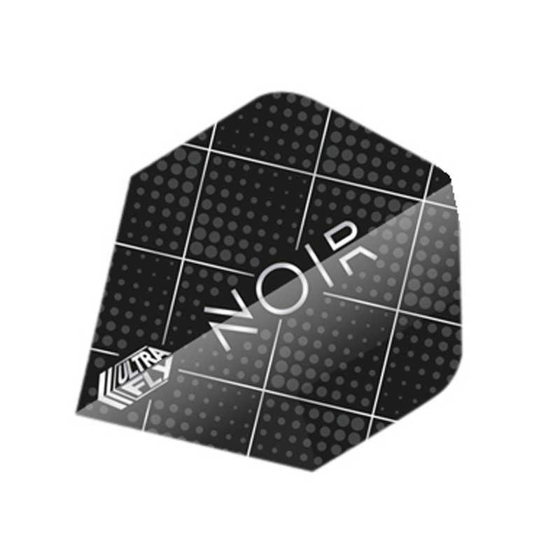 Unicorn Noir Dot Dart Flights - Plus & Big Wing Size
