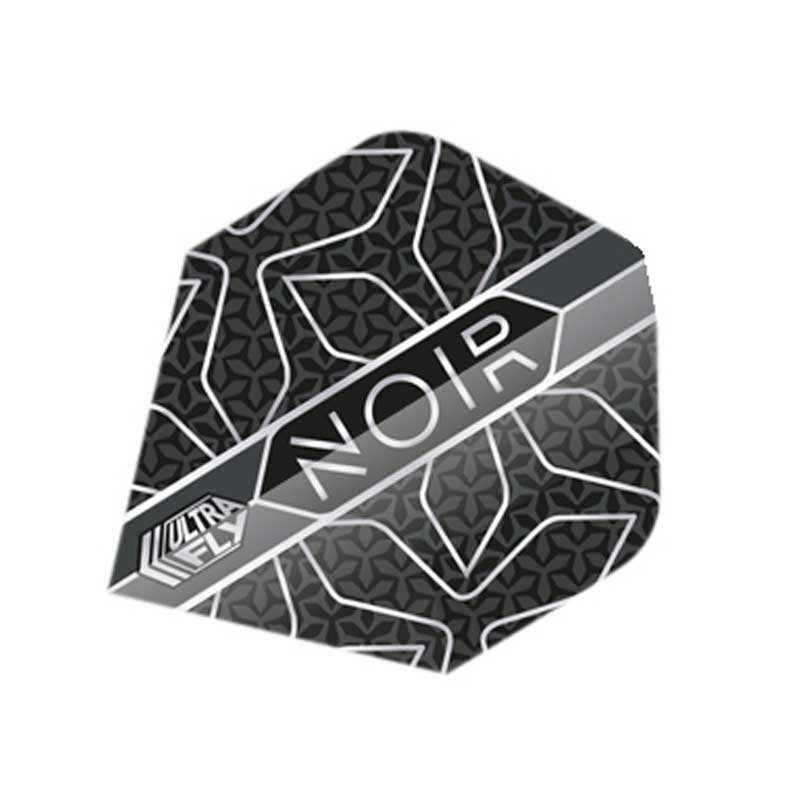 Unicorn Noir Star Dart Flights - Plus & Big Wing Size