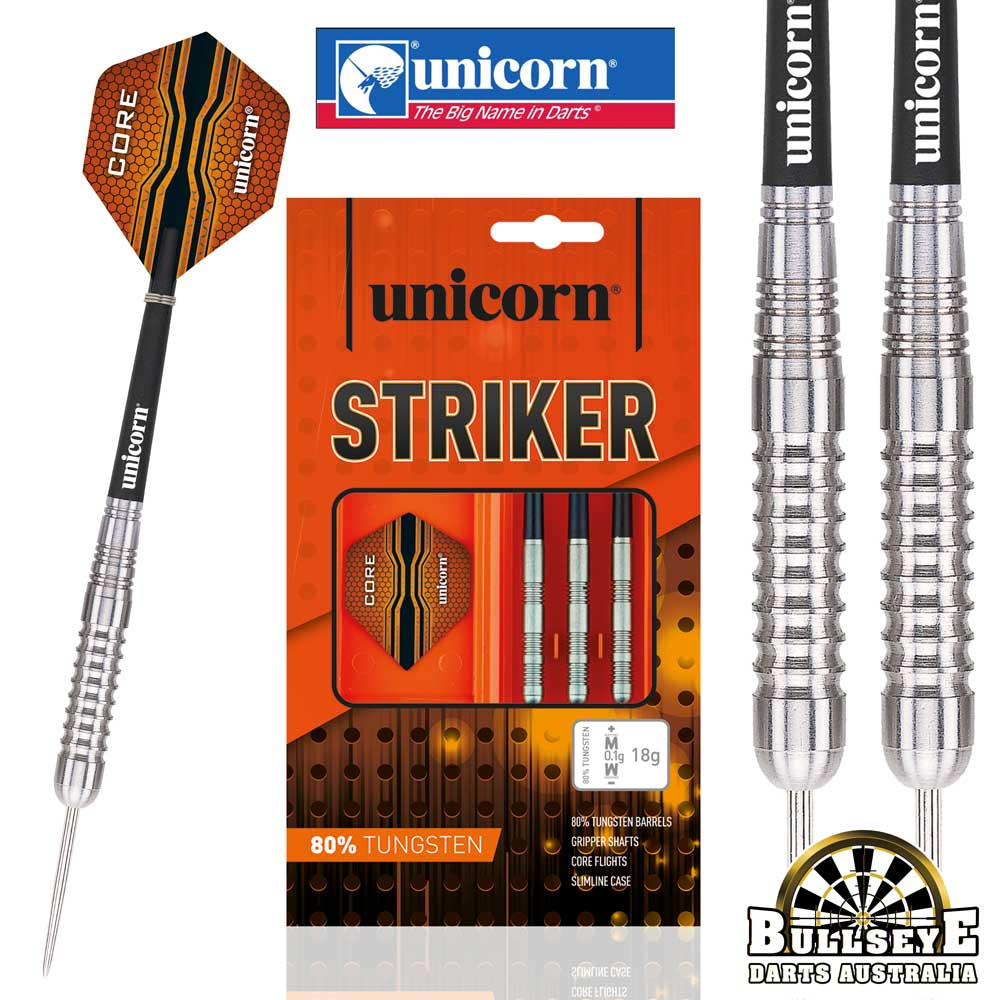 Unicorn Core XL Striker Heavy Tungsten Darts 30g