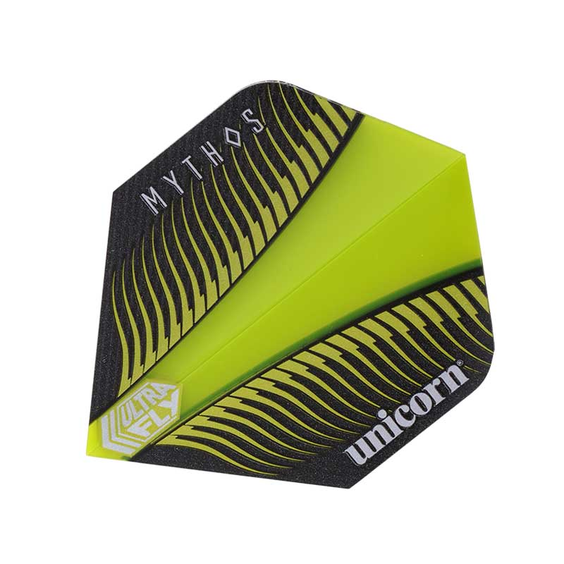 Unicorn Mythos Ultrafly Griffin Dart Flights Lime - Plus & Big Wing Size