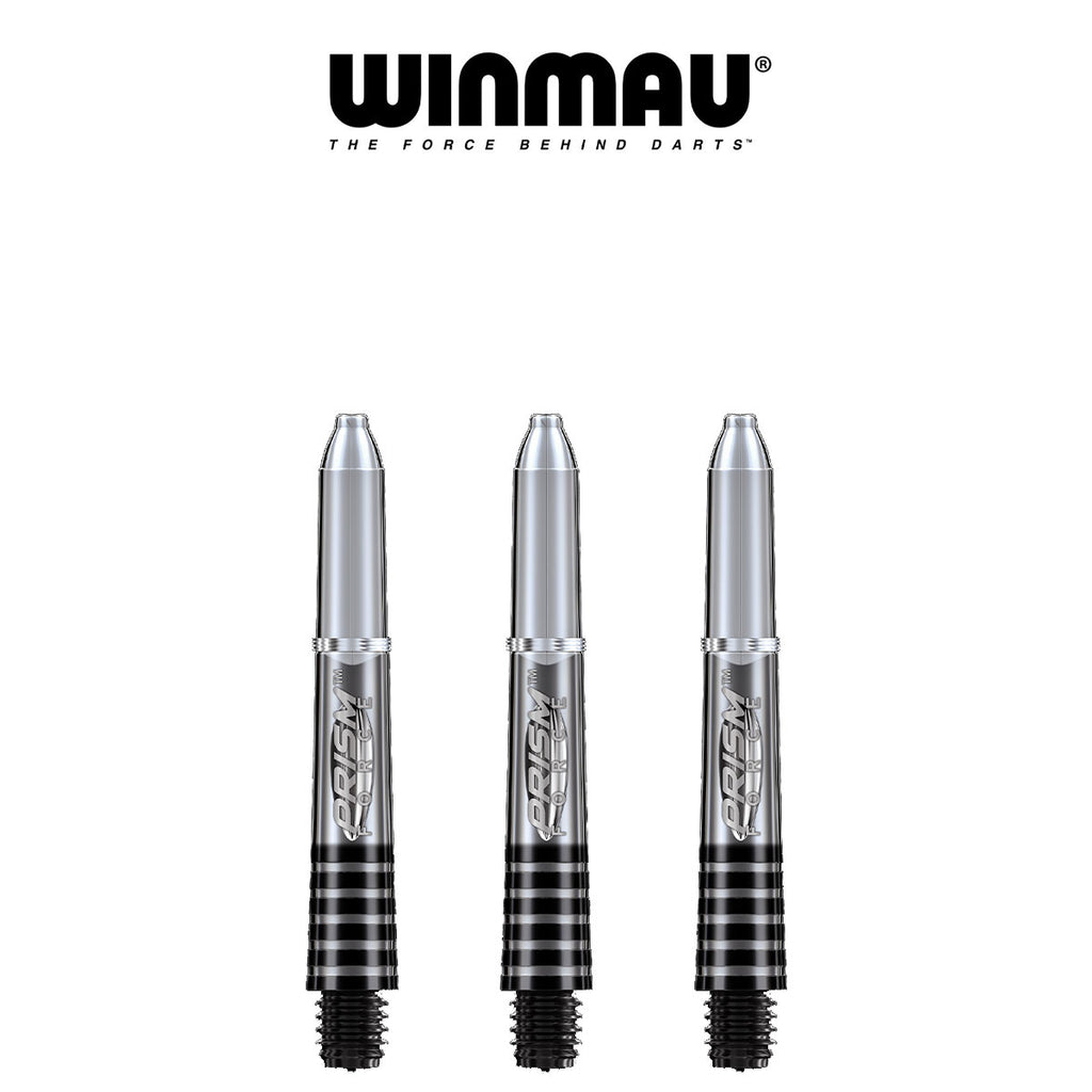 WINMAU Prism Force - Ring Lock Dart Shafts - SHORT CLEAR