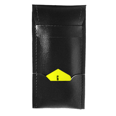 Leatherette Darts Flap Wallet