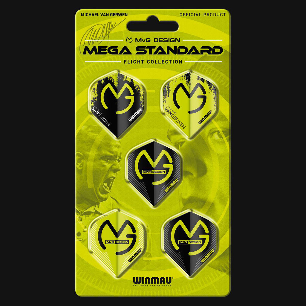Winmau MVG Mega Standard Flight Collection