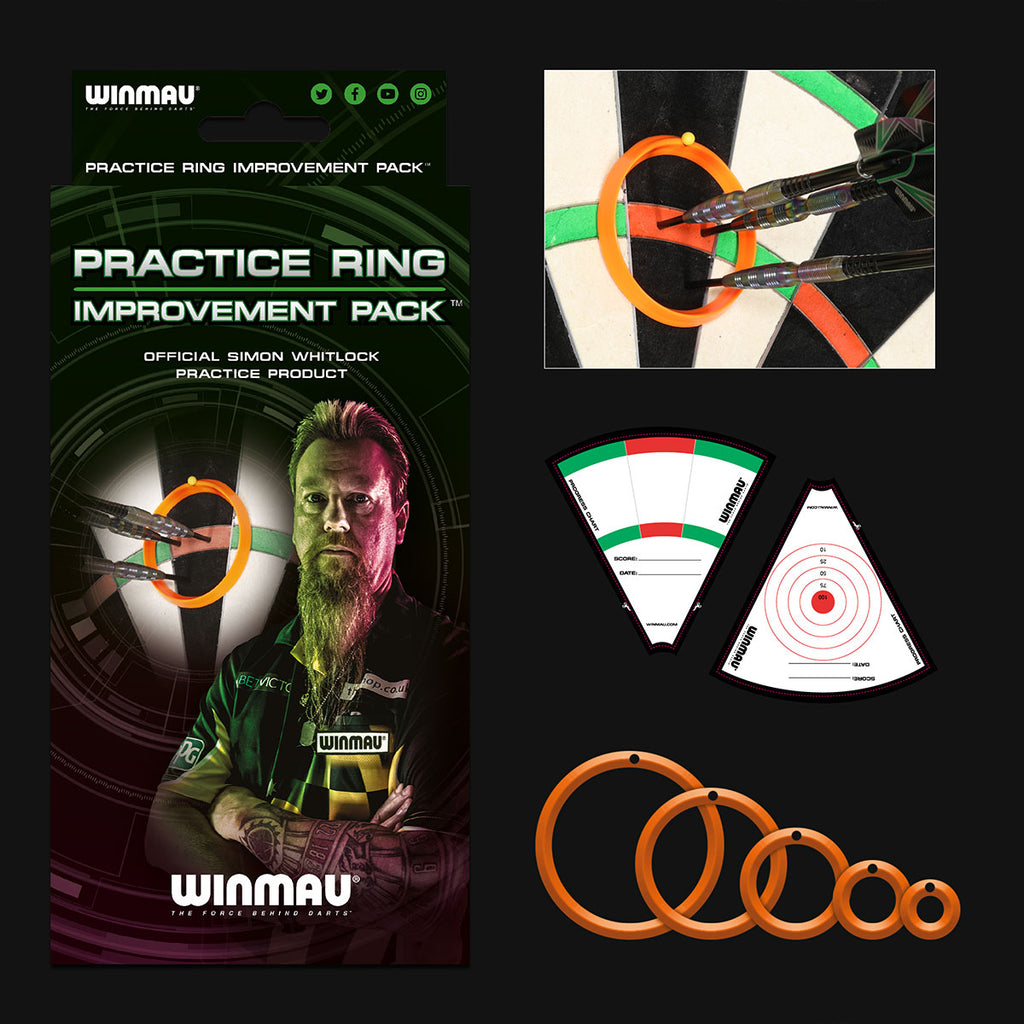 WINMAU Simon Whitlock Practice Rings Improvement Pack