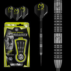 WINMAU MVG Absolute Darts - 90% Tungsten - 22g