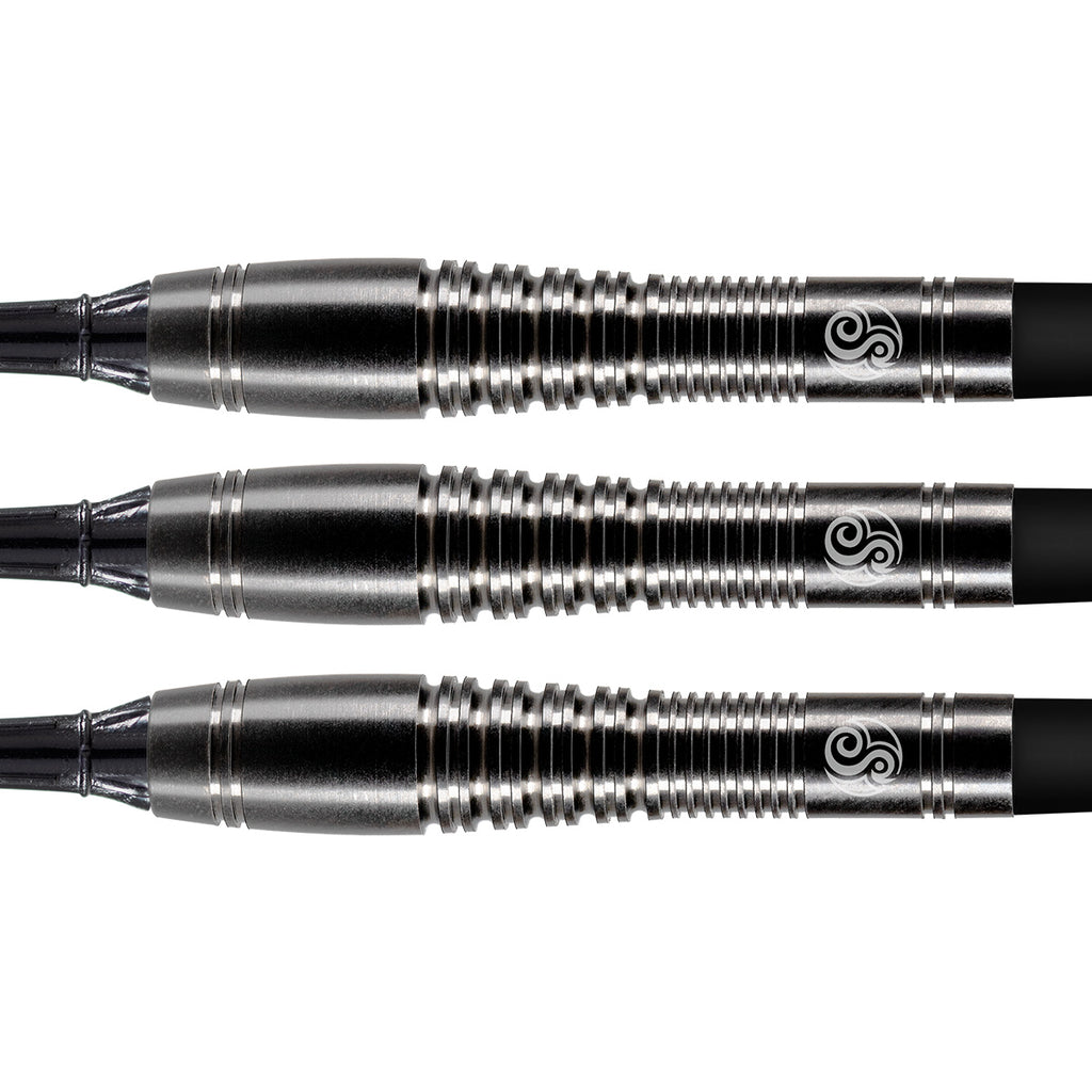 SHOT  Roshi SOFT TIP Dart Set - 90% Tungsten Barrels - 18g