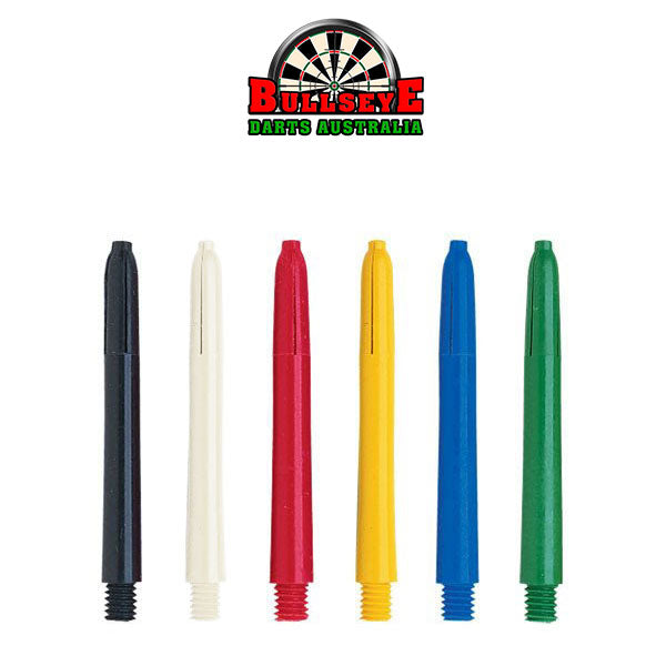 Bullseye Darts Coloured Nylon Shafts Intermediate 41mm