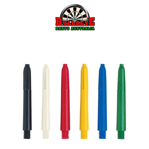 Bullseye Darts Coloured Nylon Shafts Short 34mm