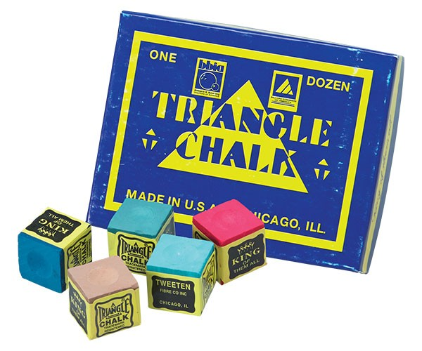 Tweeten Triangle Chalk 12 Pieces