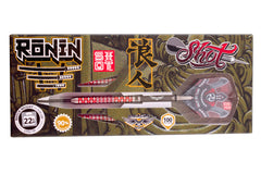 Ronin Rei Steel Tip Dart Set-Centre Weighted 90% Tungsten Barrels-22g