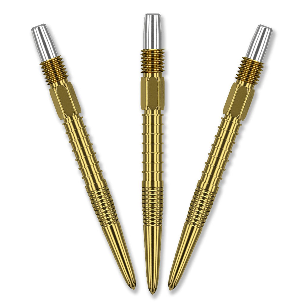 TARGET Swiss FIRE POINT Gold Dart TIP