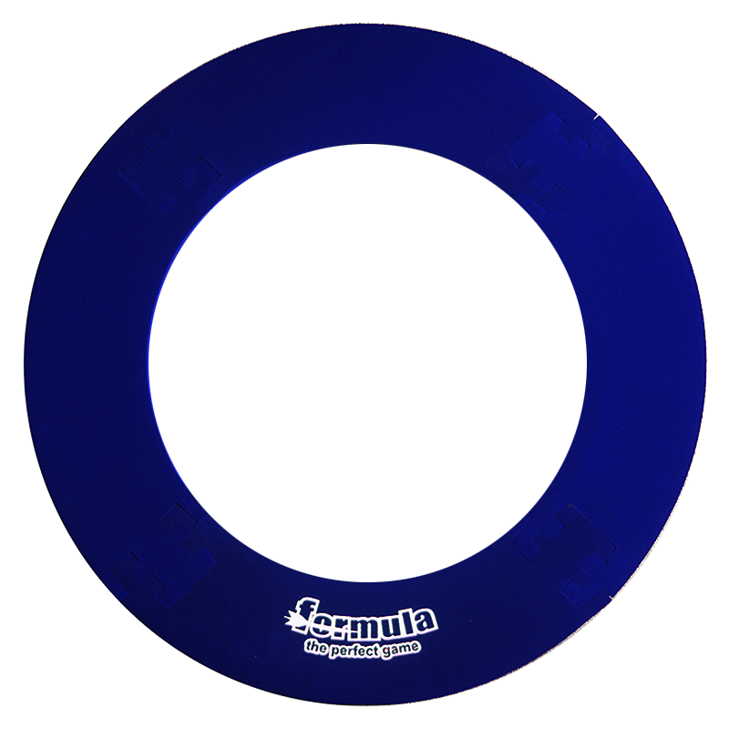 Formula 4 Piece Lightweight Dartboard Surround Blue