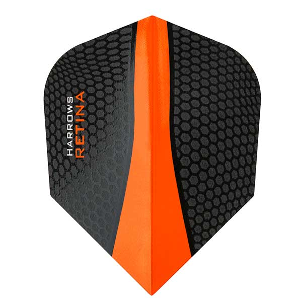 Harrows Retina Extra Strong Dart Flights - Orange