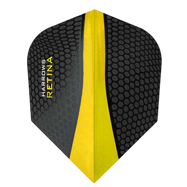 Harrows Retina Extra Strong Dart Flights - Yellow
