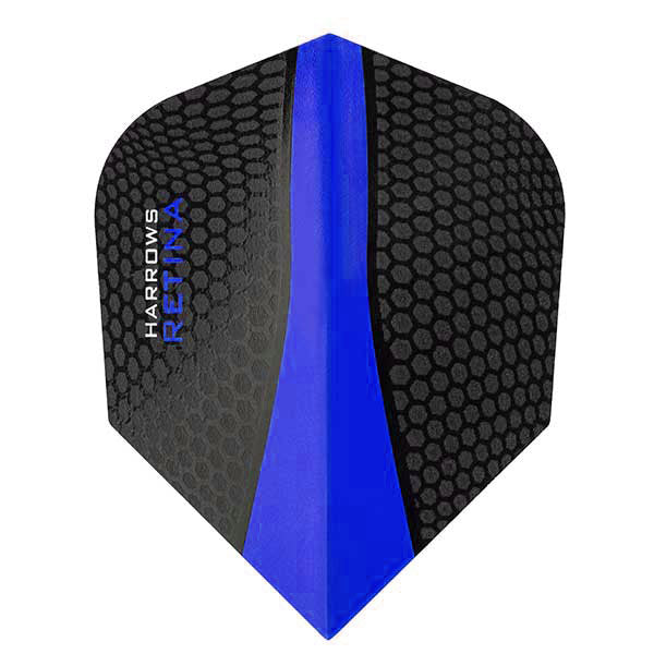 Harrows Retina Extra Strong Dart Flights - Dark Blue