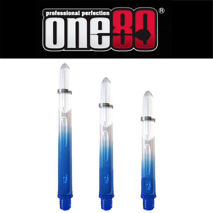 One80 Proplast Transparent Fade Effect Shafts Blue (Copy)