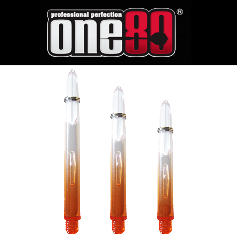 One80 Proplast Transparent Fade Effect Shafts Orange