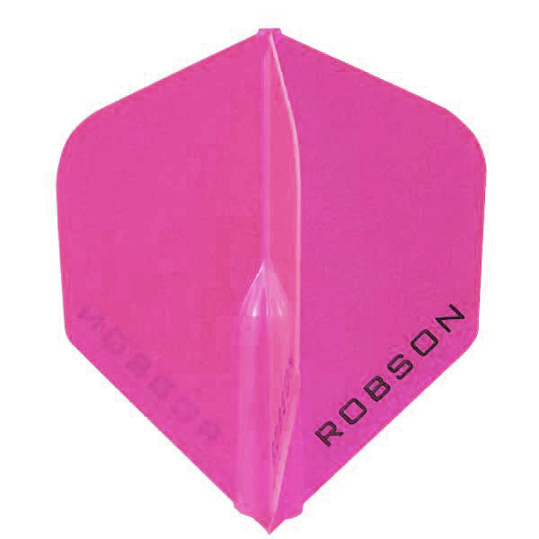 Robson Plus Dart Flights - Universal Fit, Standard Locked Shape