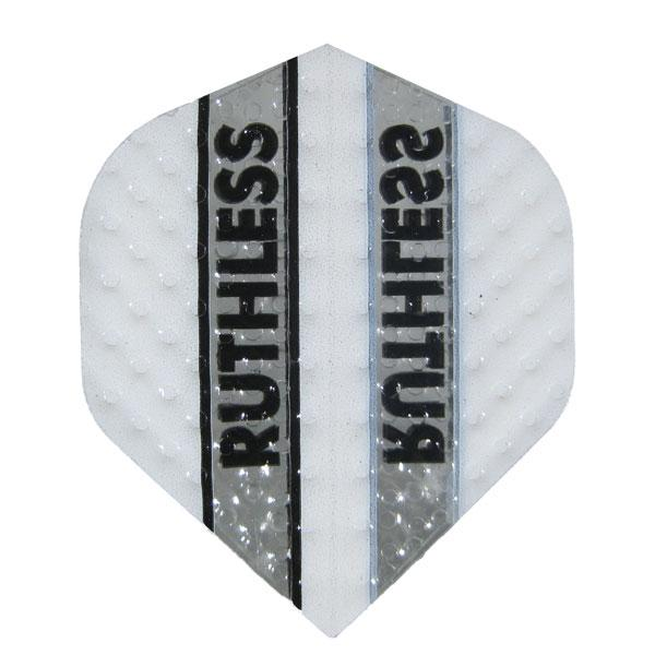 Ruthless Dimplex Clear Panel Flights - White