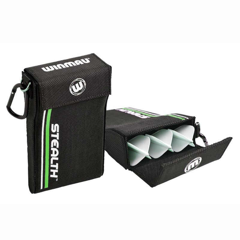 WINMAU Stealth Darts Case - Green, Red & Yellow