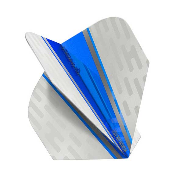 Target Vision Ultra White Wing Dart Flights - Blue No.6