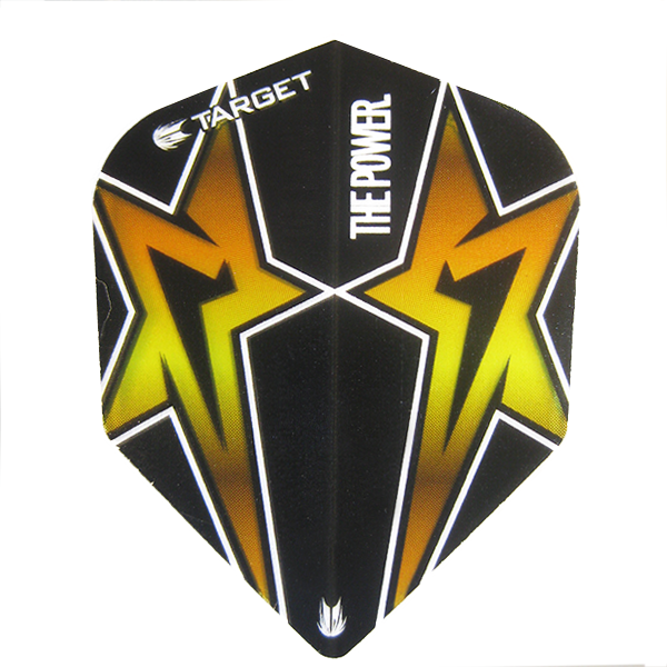 Target Phil Taylor Power Star Extra Tough Flights Black