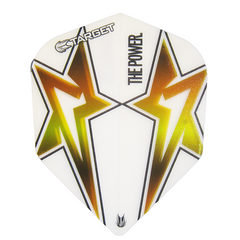 Target Phil Taylor Power Star Extra Tough Flights White