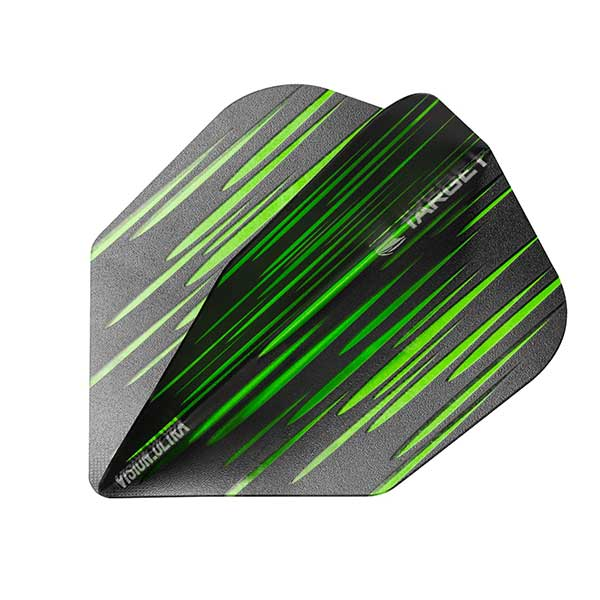 Target Spectrum Vision Ultra Flights 100 Micron - Green