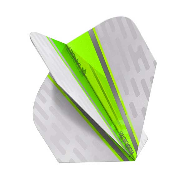 Target Vision Ultra White Wing Dart Flights - Green No.6
