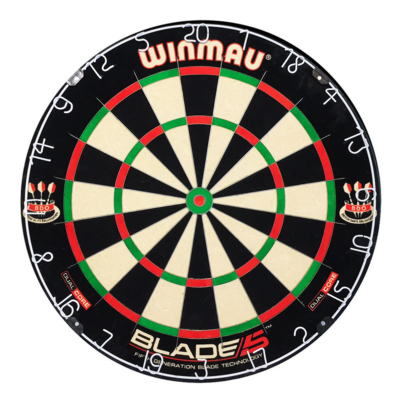 WINMAU Blade 5 Dual Core Layered Bristle Dartboard
