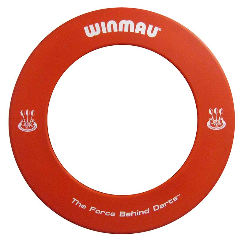 Winmau Dartboard Surround BDO Approved Red