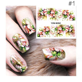 Chic 3D Nail Art Decals - Choose From 3 Cute Flowery Designs